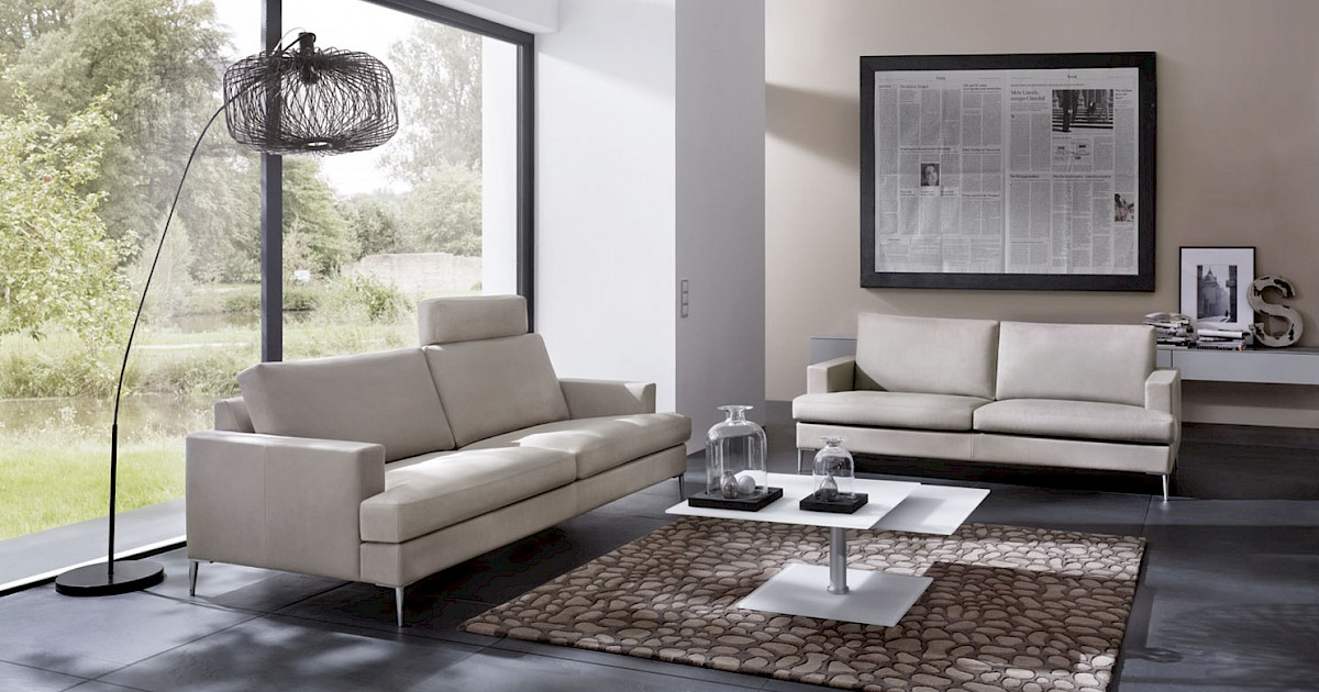 erpo ledersofa cl 740 exklusive designercouch. Black Bedroom Furniture Sets. Home Design Ideas