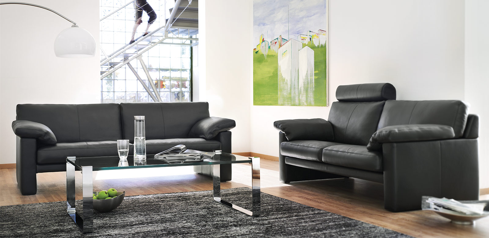 Luxus Ledercouch CL 300