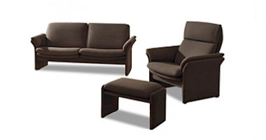 collection hochwertige ledersofas sessel. Black Bedroom Furniture Sets. Home Design Ideas