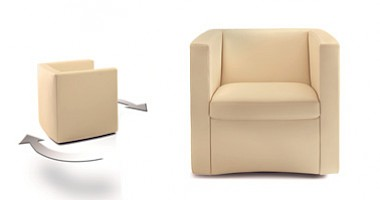 Single-seater armchair CL 140