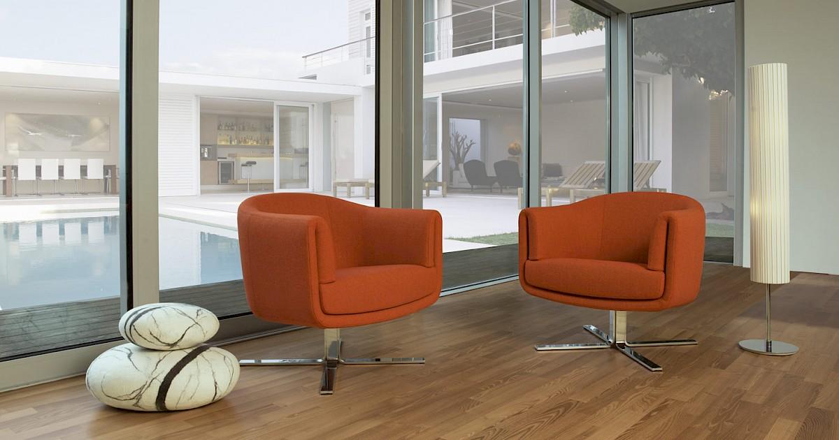 erpo designer drehsessel av 113 exklusive ledersessel. Black Bedroom Furniture Sets. Home Design Ideas